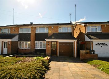 Thumbnail 3 bed semi-detached house for sale in Firth Drive, Yardley Wood, Birmingham