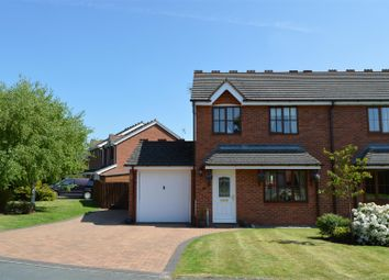 Thumbnail 3 bed semi-detached house for sale in Barley Meadows, Llanymynech
