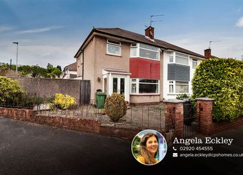 3 bed semi-detached house for sale in Hampton Court Road, Penylan, Cardiff CF23