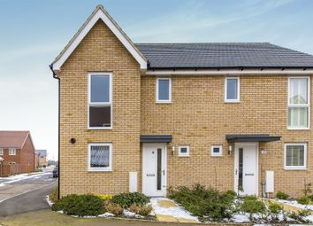 Thumbnail 3 bed semi-detached house for sale in Gladiator Road, Upper Cambourne, Cambourne
