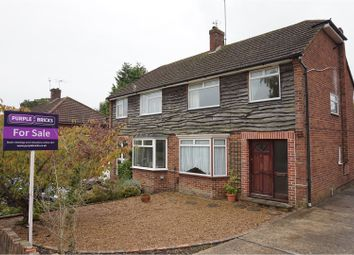 Thumbnail 3 bed semi-detached house for sale in Brooklands Way, Redhill
