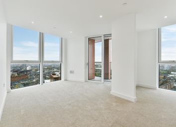 Thumbnail 3 bedroom flat to rent in Haydn Tower, Nine Elms Point, Vauxhall