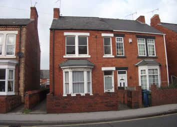Thumbnail 1 bed flat to rent in Newcastle Avenue, Worksop, Nottinghamshire