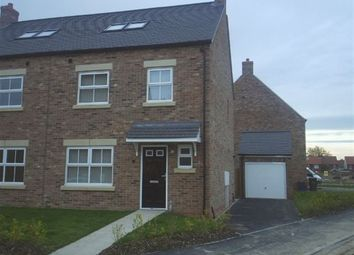 Thumbnail 4 bed semi-detached house to rent in Oak Way, Selby