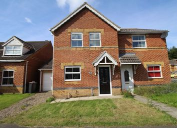 Thumbnail 3 bed semi-detached house to rent in Bluebell Close, Leadgate, Consett