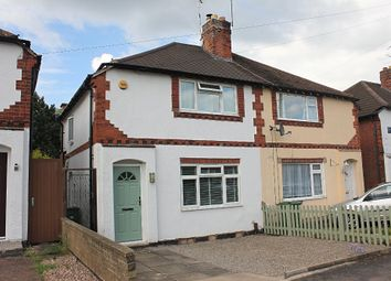 Thumbnail 2 bed semi-detached house for sale in Kingston Avenue, Wigston, Leicester
