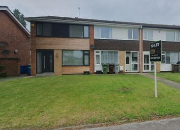Thumbnail 3 bed terraced house to rent in Plestowes Close, Shirley, Solihull
