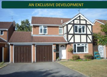 Thumbnail 4 bed detached house for sale in Badgers Holt, Oadby, Leicester