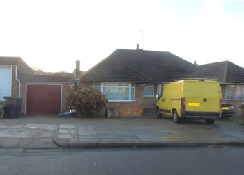 Thumbnail 3 bed bungalow to rent in Fieldgate Road, Leagrave, Luton