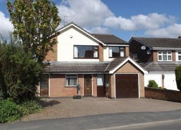 Thumbnail 4 bedroom detached house for sale in Stretton Road, Great Glen, Leicester, Leicestershire