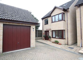 Thumbnail 4 bed detached house for sale in Tollgate Court, Norwich Road, Claydon, Ipswich, Suffolk