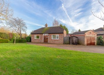 Thumbnail 3 bed detached bungalow for sale in Pig Lane, St. Ives, Huntingdon