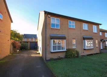 Thumbnail 3 bed semi-detached house for sale in Isis Close, Aylesbury, Buckinghamshire