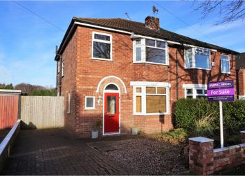 Thumbnail 3 bed semi-detached house for sale in St. David Road, Wirral