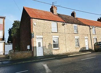Thumbnail 2 bed end terrace house for sale in Park Street, Winterton, Scunthorpe