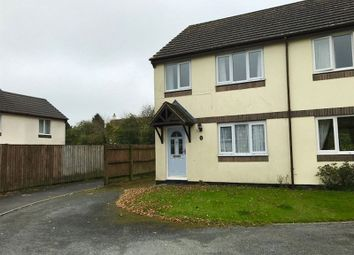Thumbnail 3 bed semi-detached house to rent in Crocken Tor Road, Okehampton