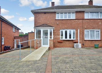 Thumbnail 2 bed semi-detached house for sale in Calley Down Crescent, New Addington, Croydon