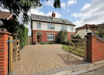 Thumbnail 4 bed semi-detached house for sale in Swanwick Lane, Lower Swanwick, Southampton