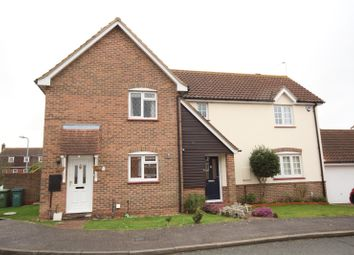 Thumbnail 3 bed semi-detached house for sale in Bowfell Drive, Langdon Hills, Essex