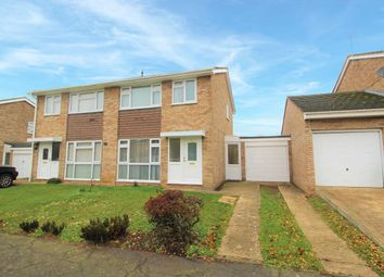 Thumbnail 3 bed semi-detached house for sale in Manor Farm Way, Sharnbrook, Bedford
