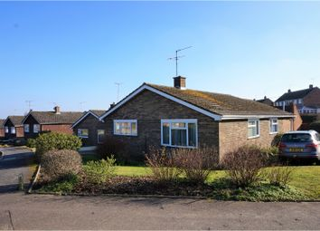 Thumbnail 3 bed bungalow for sale in Mill View Close, Woodbridge