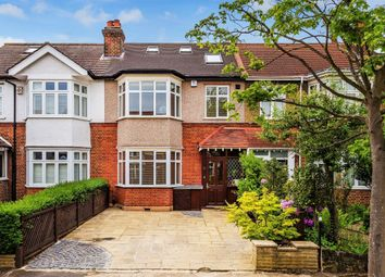 Thumbnail 4 bed terraced house for sale in Stratton Road, Merton Park