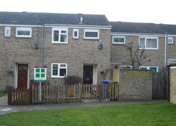 Thumbnail 3 bedroom terraced house to rent in Selwyn Close, Mildenhall, Bury St. Edmunds