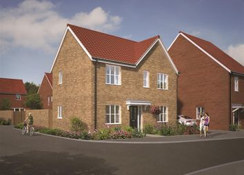 Thumbnail 3 bed detached house for sale in Great Melton Road, Hethersett, Norwich
