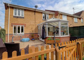 Thumbnail 3 bed terraced house for sale in Buttercup Court, Deeping St. James, Peterborough