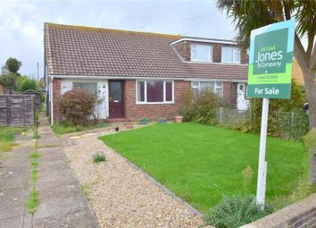 Thumbnail 3 bed semi-detached bungalow for sale in Burnside Crescent, Sompting, Lancing