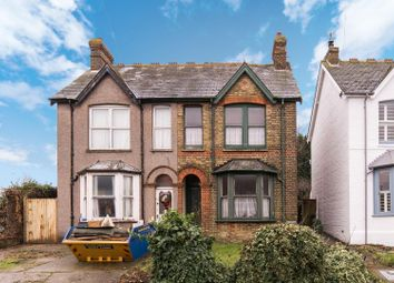 Thumbnail 3 bed semi-detached house for sale in School Lane, Herne Bay
