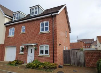 Thumbnail 3 bed town house for sale in The Mallards, Totton