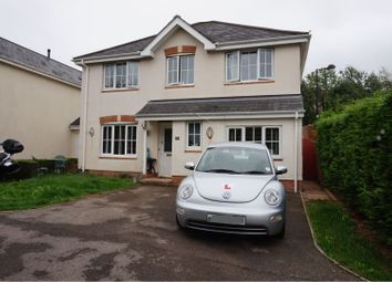 Thumbnail 4 bed detached house for sale in Vale Park, Bridgend