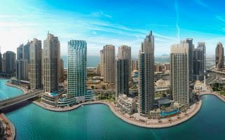 Thumbnail 1 bed apartment for sale in Dubai Marina, Dubai, United Arab Emirates