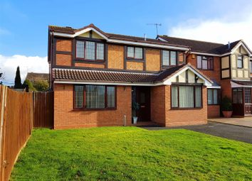 Thumbnail 4 bed detached house for sale in Mayflower Close, Stourport-On-Severn