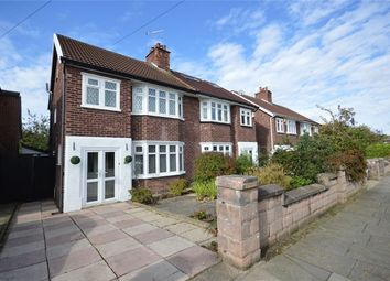 Thumbnail 3 bed semi-detached house for sale in Norbury Avenue, Bebington, Merseyside