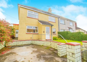 Thumbnail 3 bed semi-detached house for sale in Pant Y Fid Road, Aberbargoed, Bargoed