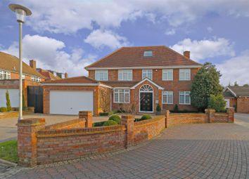 Thumbnail 7 bedroom detached house for sale in Dellfield Close, Radlett