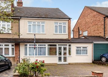 Thumbnail 4 bed semi-detached house for sale in Chelsworth Drive, Romford