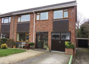 Thumbnail 5 bed semi-detached house for sale in Weavers Close, Kingswood, Wotton-Under-Edge