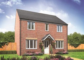 "Thumbnail 4 bed detached house for sale in ""The Chedworth"" at Churchfields, Hethersett, Norwich"