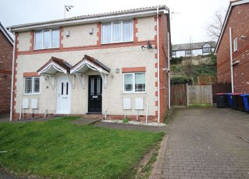 Thumbnail 2 bedroom semi-detached house to rent in Border Brook Lane, Boothstown, Manchester