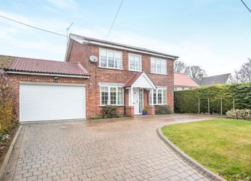 Thumbnail 4 bed link-detached house for sale in Weasenham, King's Lynn