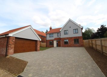 Thumbnail 5 bed detached house for sale in Wormegay Road, Plot 1, Blackborough End, King's Lynn