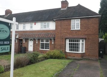 Thumbnail 2 bed end terrace house for sale in Ebrook Road, Sutton Coldfield
