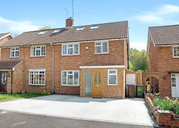 Thumbnail 4 bed semi-detached house for sale in Claremont, Bricket Wood, St.Albans