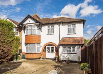 Thumbnail 4 bed semi-detached house for sale in Wickham Avenue, North Cheam, Sutton