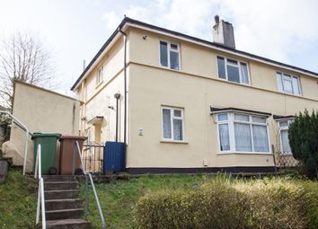 Thumbnail 1 bed flat for sale in Rothesay Gardens, Crownhill, Plymouth