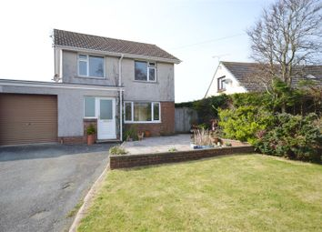 Thumbnail 3 bed link-detached house for sale in Osborn Park, Neyland, Milford Haven