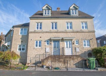 Thumbnail 3 bed terraced house for sale in Claytonia Close, Roborough, Plymouth
